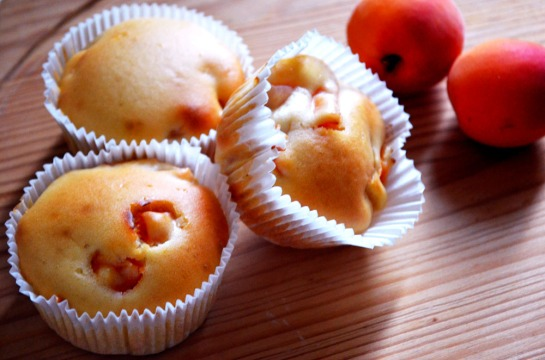 Muffin alle albicocche 1
