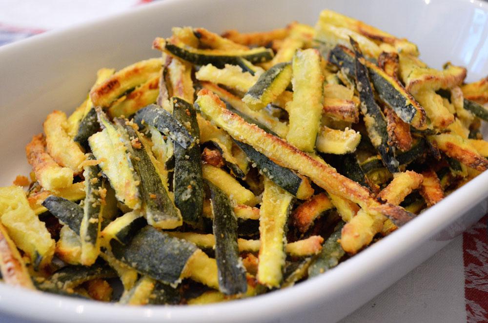 Zucchine al forno una nota di zenzero for Cucinare le zucchine